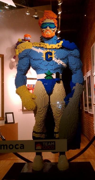 Lego Conan O'Brian | Comic-Con | San Diego | 2011