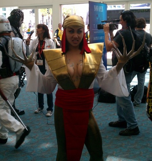 Hot Girl With Claws | Comic-Con | San Diego | 2011