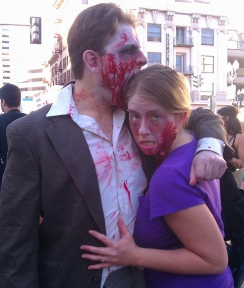 Zombie Walk San Diego 2011 | Comic-Con | Zombie Couple