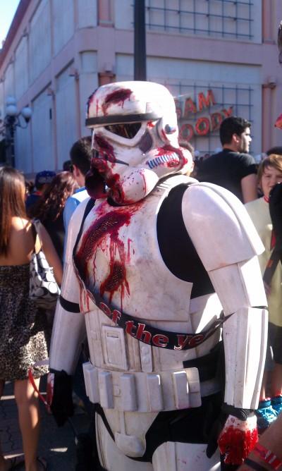 Zombie Walk San Diego 2011 | Comic-Con | Zombie Storm Trooper